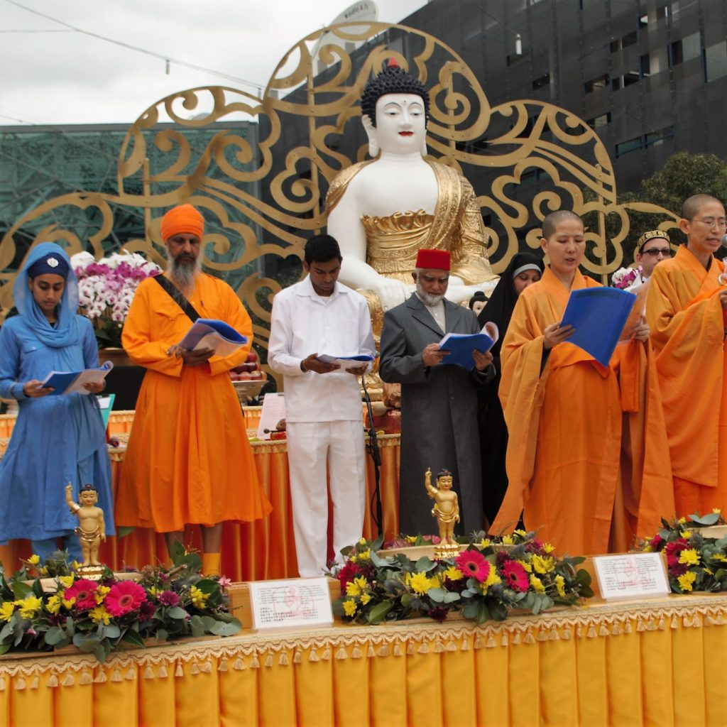 Interfaith Blessing Ceremony at Buddha Day