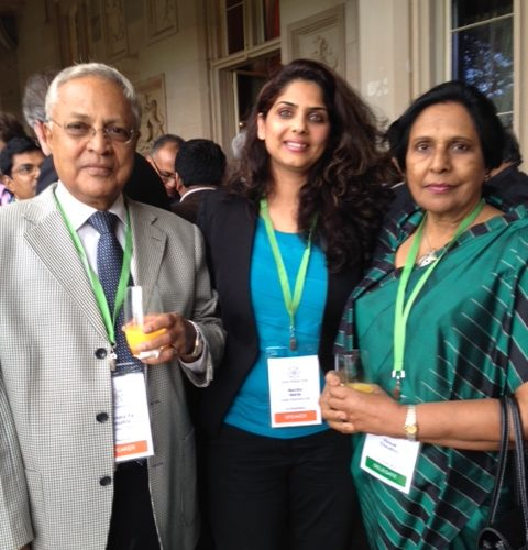 MM with former PM for Fiji (Mahendra Choudhary) and his wife