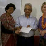 Australian aid money funds Indian charity eye hospital