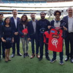 Indian celebs hosted at the MCG by Cricket Australia