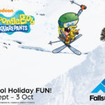 SpongeBob SquarePants is heading to Falls Creek!