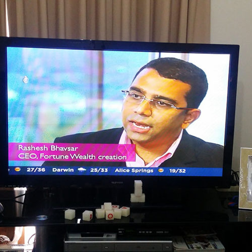 Rashesh on ABC24 News Channel