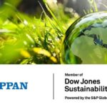 Toppan Named to DJSI World Index for Four Consecutive Years