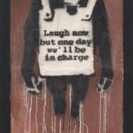 Phillips to Accept Cryptocurrency for a Physical Artwork for the First Time in Company History with Banksy's 'Laugh Now Panel A'