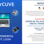 AIRCUVE holds 2FA Security Webinar: Securing Company While Working Remotely