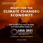 Asia School of Business: Are you ready for the Climate Change(D) Economy?